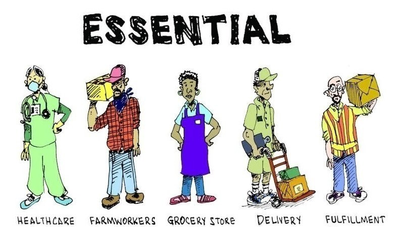 """When """"Essential Workers"""" Become Sacrificial Lambs   by Frank Harrell   Medium"""