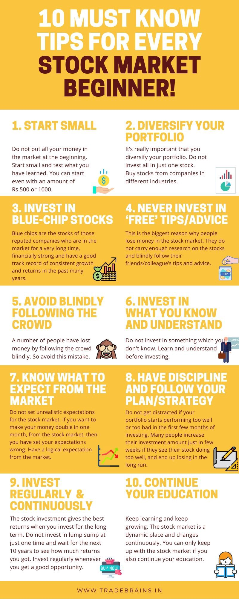 Tips For Every Stock Market Beginner