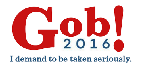 Gob 2016 I demand to be taken seriously meme 7 Ways We Can Prove That Jeb And Gob Are Actually the Same Person The Outtake Medium