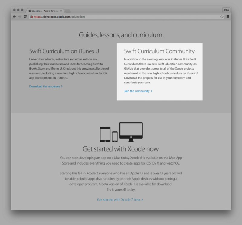 Apple has published a great free learn to code course for Swift—on GitHub