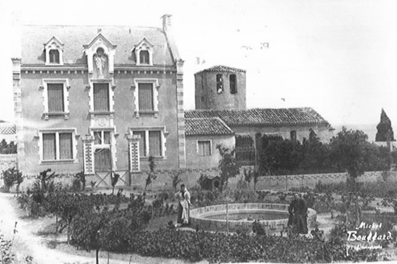 Saunière built the lavish Villa Bethania with his new riches