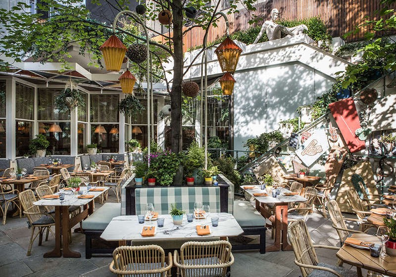 5 Chic Outdoor Brunch Spots In Nyc