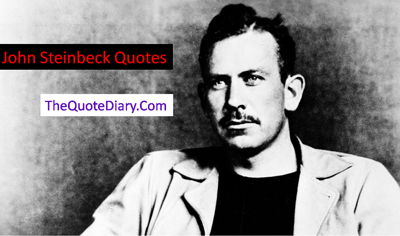 John Steinbeck Quotes - The quote diary - Medium
