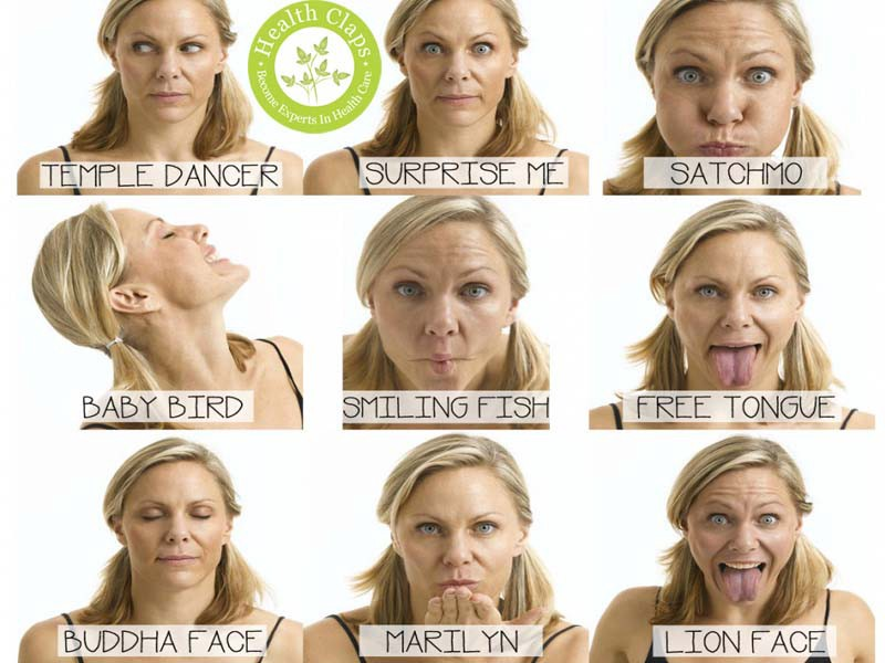 Yoga Facial Exercises For Anti Aging By Healthclaps Medium