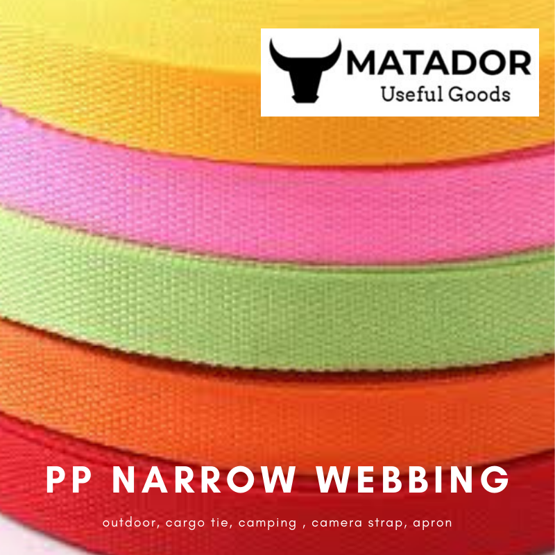 WEBBING STRAPPING TAPE VARIOUS COLOURS SIZES LENGTHS POLYPROPYLENE