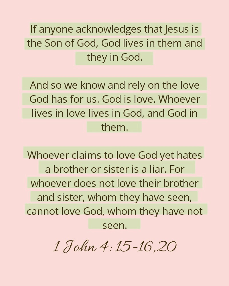 Whoever Claims To Love God Yet Hates A Brother Or Sister Is A Liar By Cabezaaidel Medium