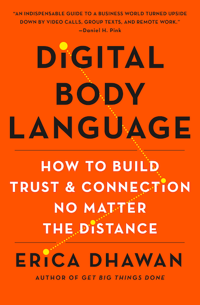 Book cover for Digital Body Language: How to Build Trust and Connection No Matter the Distance by Erica Dhawan