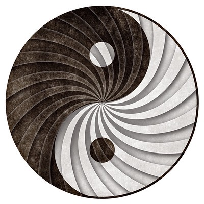 An illustration of the Symbol Ying and Yang