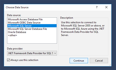 SSDT: How to Launch the SSRS Report Designer Using a Template