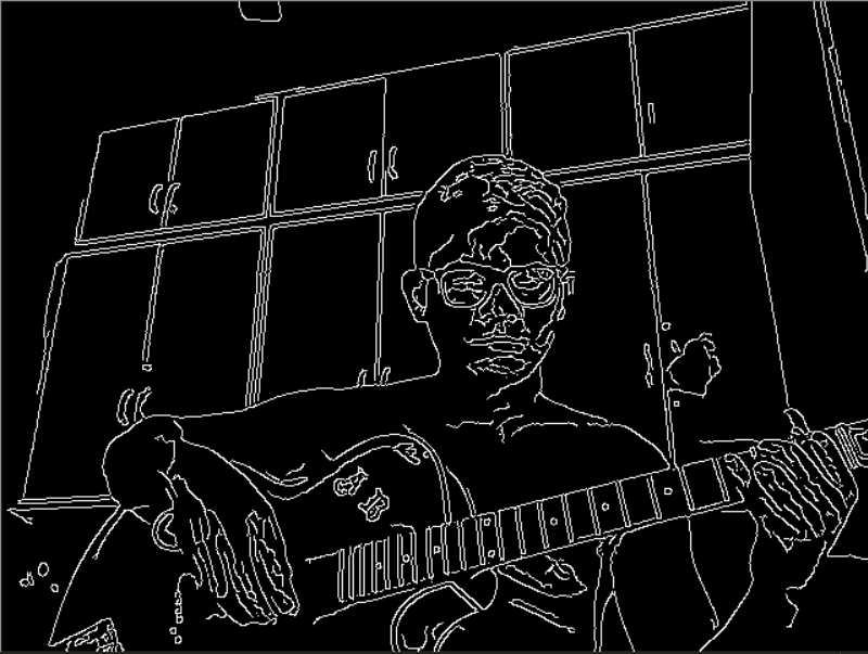 Edge Detection With 15 Lines Of Python Code Using Opencv And Webcam By Akash Bhiwgade Medium