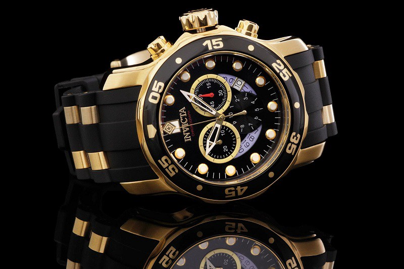 A picture of invicta watches