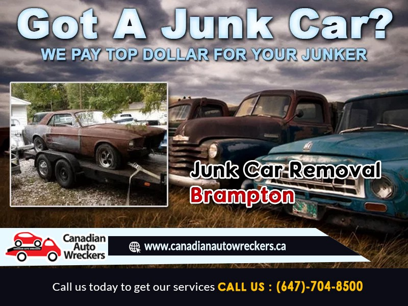 Top Pay For Junk Cars >> Got A Junk Car Www Canadianautowreckers Ca Will Pay Top