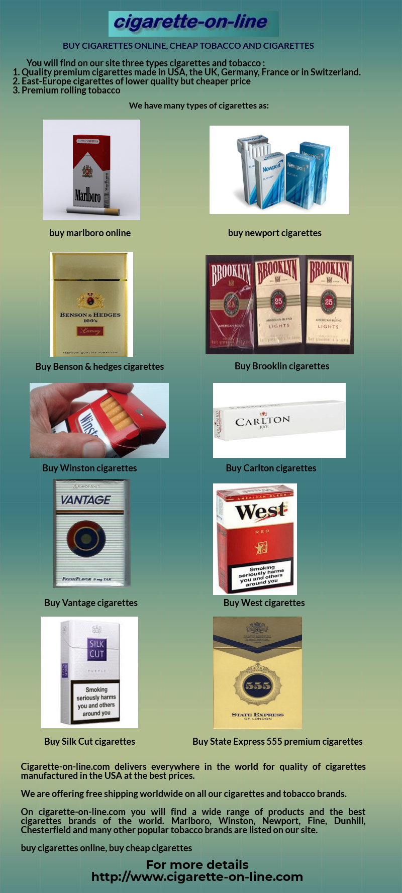 Cheap newport cigarettes made in usa where e cigarette