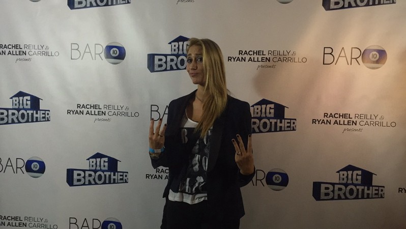 "Vanessa Rousso, ""Big Brother 17"" houseguest, at the season wrap party (Neon Tommy/Dustin Sloane)."