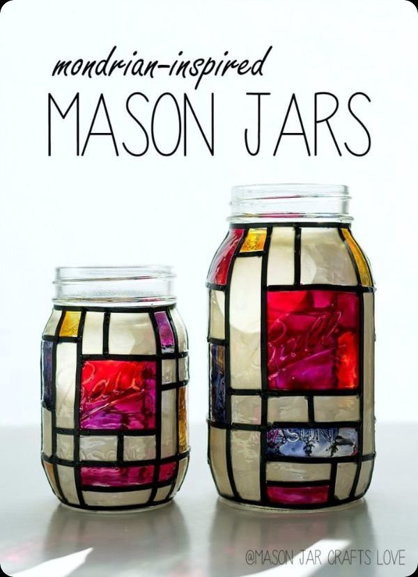75 easy creative things to do with mason jars medium for Simple creative things