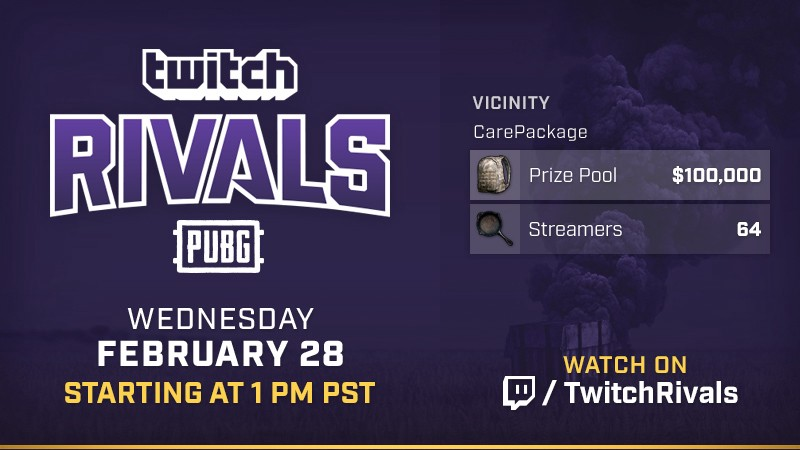 Twitch Rivals Presents: PUBG Invitational - Twitch Blog