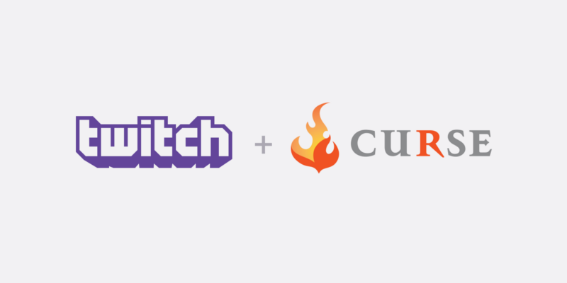 Twitch and Curse, in perfect harmony.