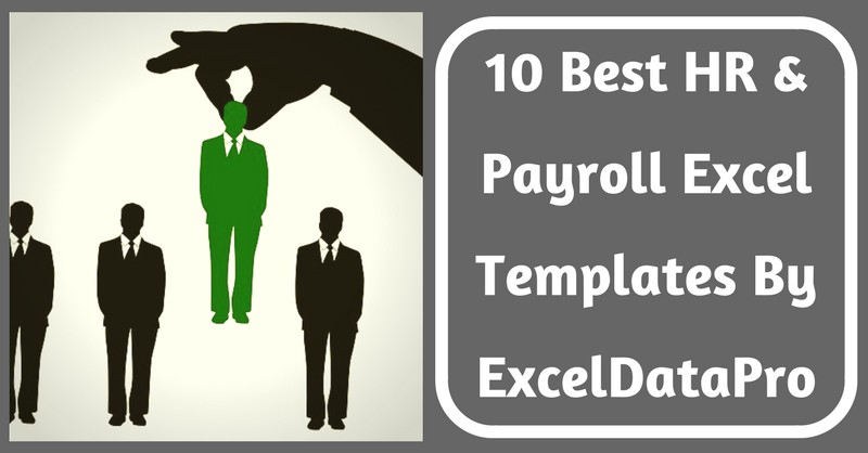 10 Best HR & Payroll Templates In Excel By ExcelDataPro