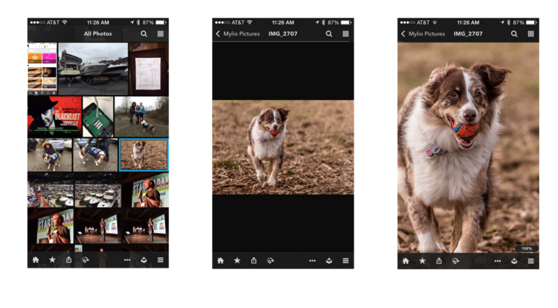 how to find the resolution of a photo on iphone