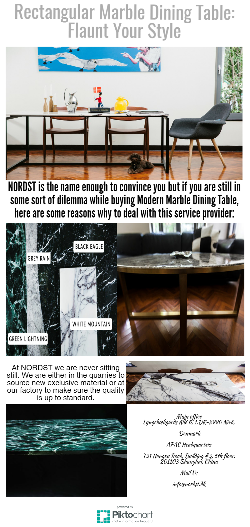 Picture of: Rectangular Marble Dining Table Flaunt Your Style By Nordst Medium
