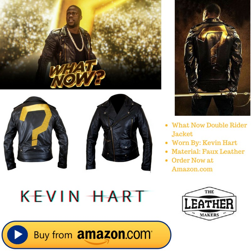Kevin Hart What Now Double Rider Jacket