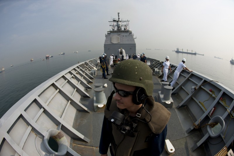 Uss Cowpens Collision China's Trying to Sh...