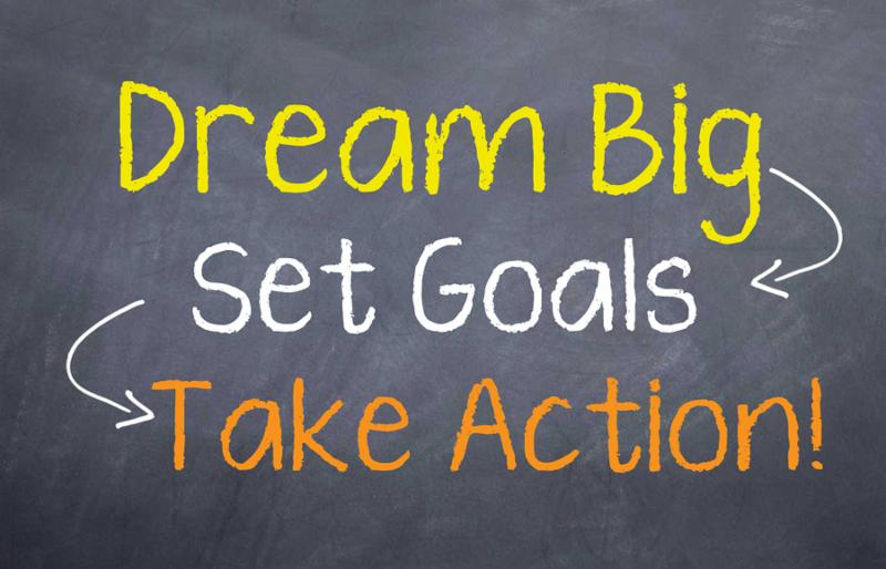 Image result for dream big goals
