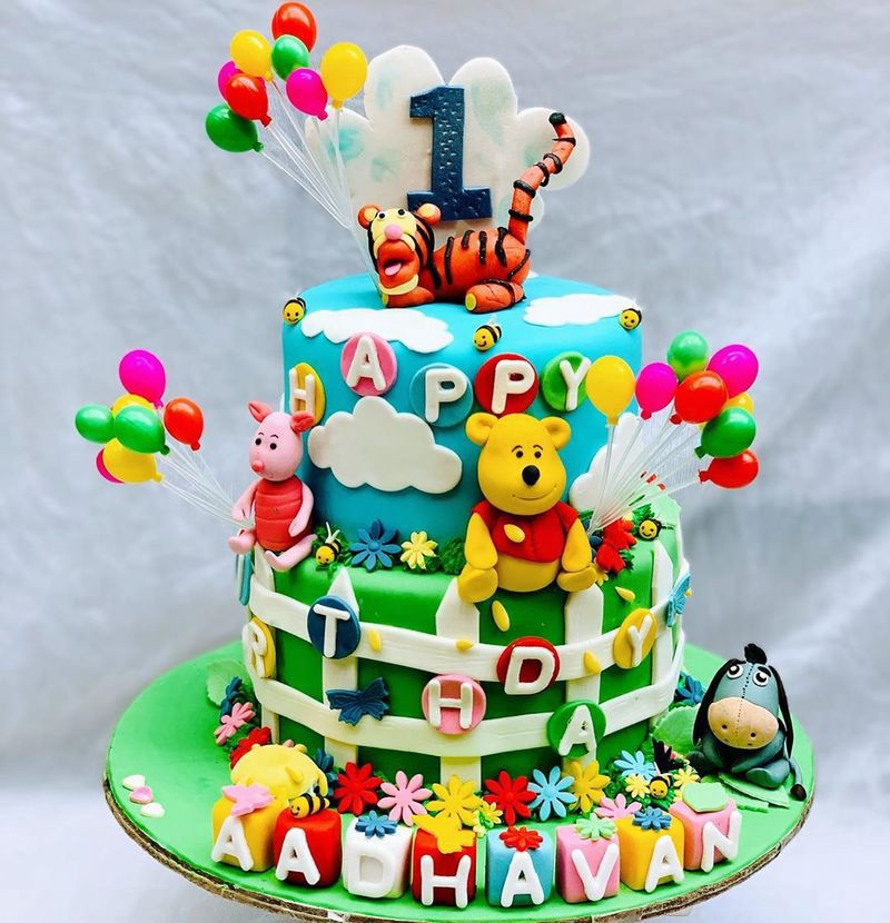 Wondrous 20 Amazing Birthday Cake Ideas For Kids Bondita Deka Medium Personalised Birthday Cards Beptaeletsinfo