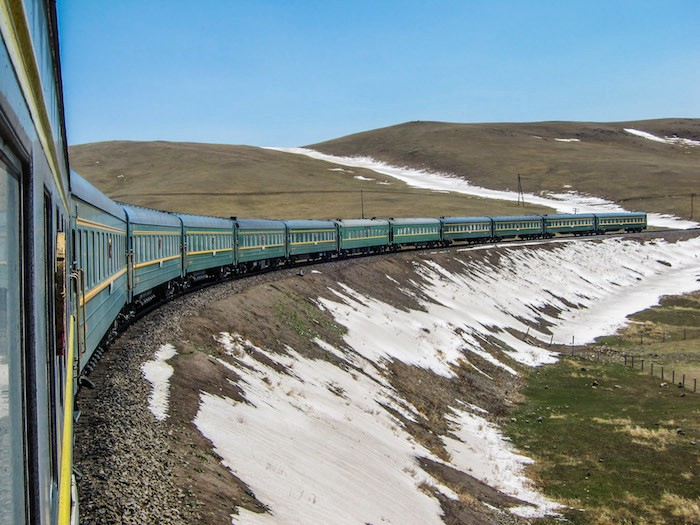 One Month on the World's Longest Train Ride for $1,000