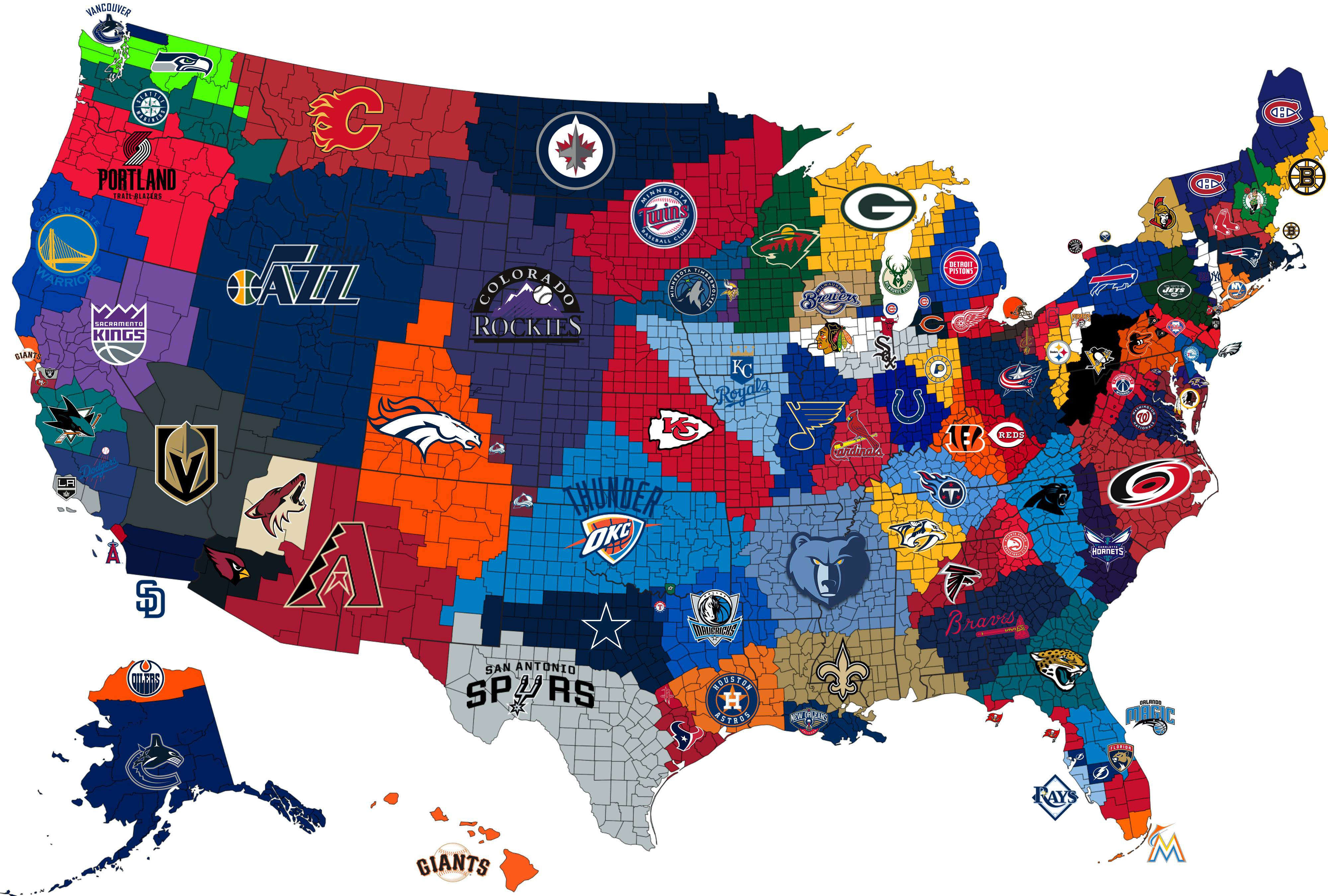 Do Major North American Sports Leagues Have Too Many Teams?