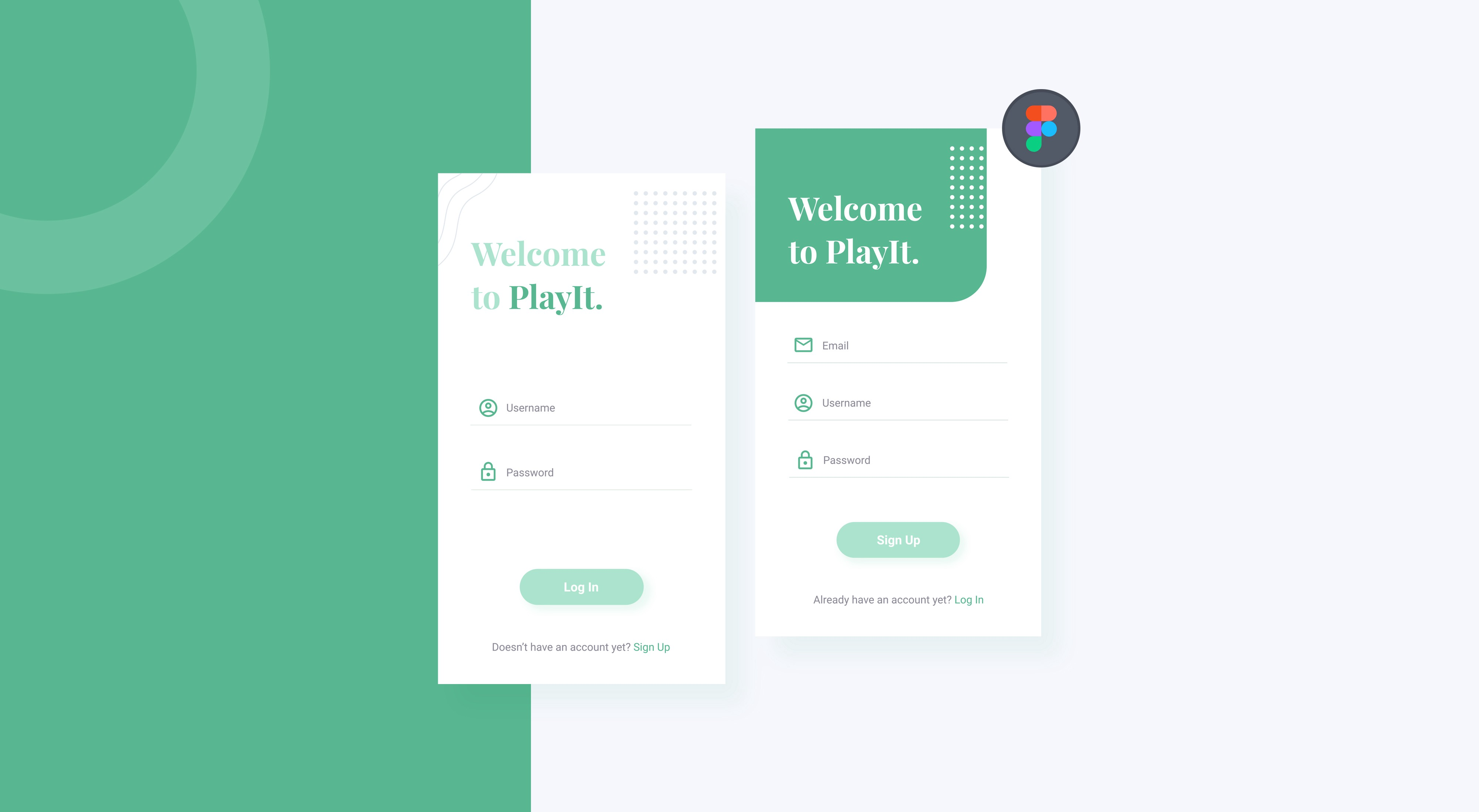 How I make a clean UI design for login section with Figma from ...