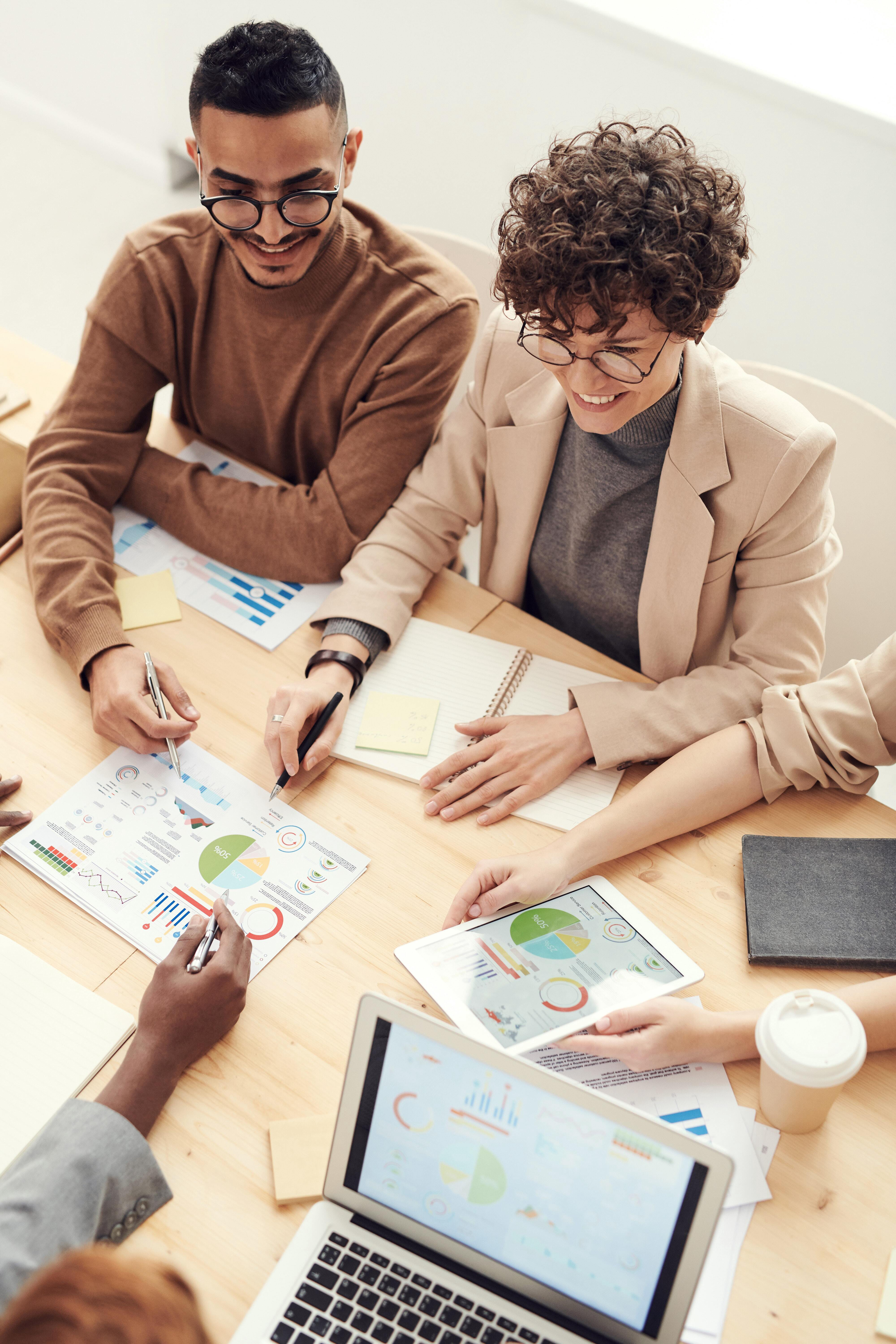 Meeting using data to make mission driven decisions