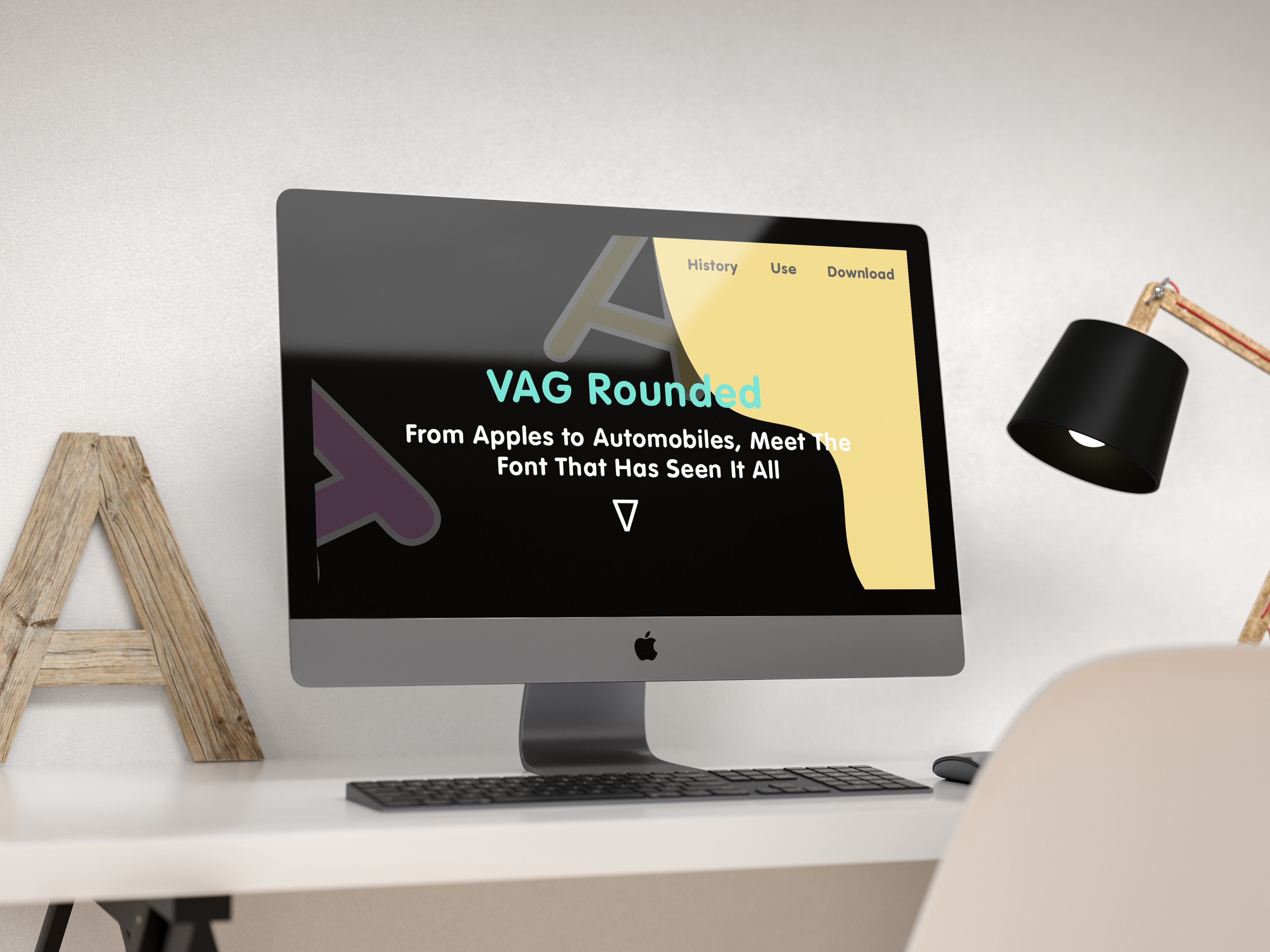 Planes Trains And Typeface Creating A Typographical Specimen Landing Page For Vag Rounded By Brett Cooper Ux Collective