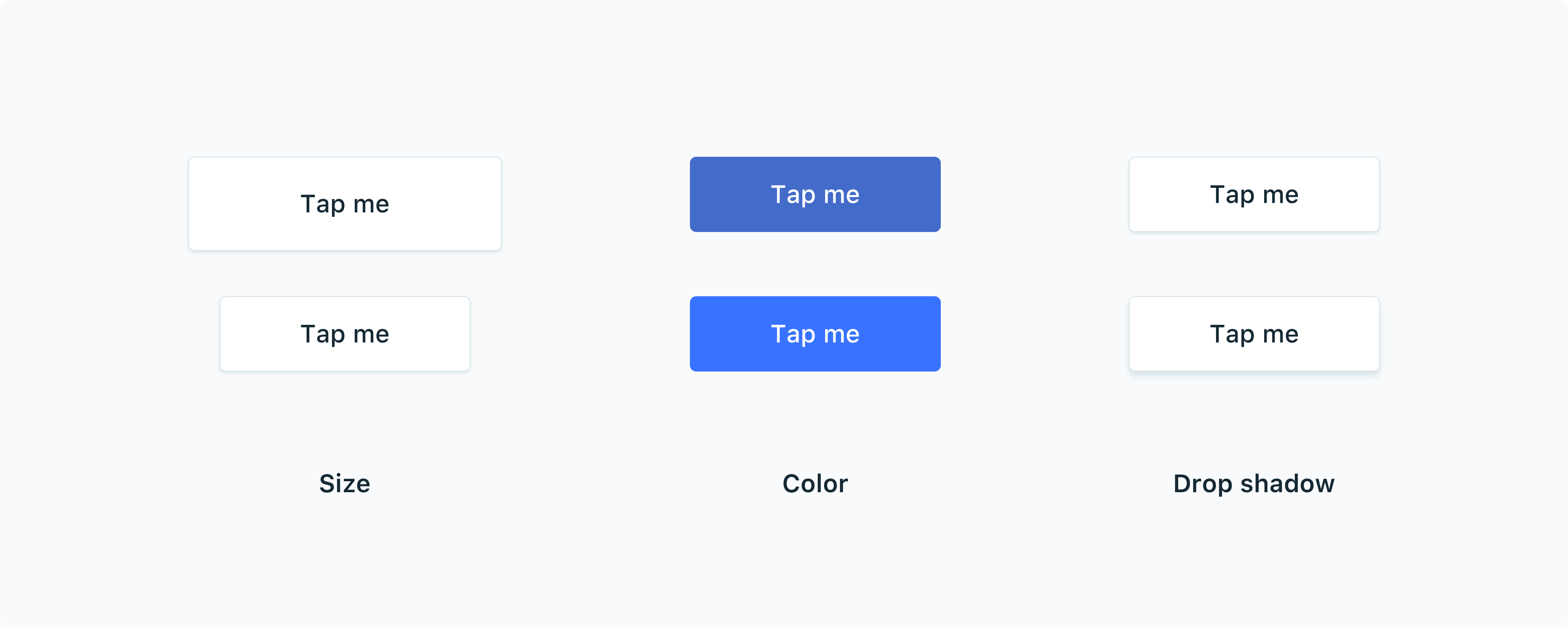 Make Sense Of Rounded Corners On Buttons By Shan Shen Ux Collective