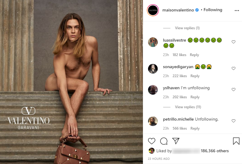 Designer Attacked Over Photo of Androgynous Model