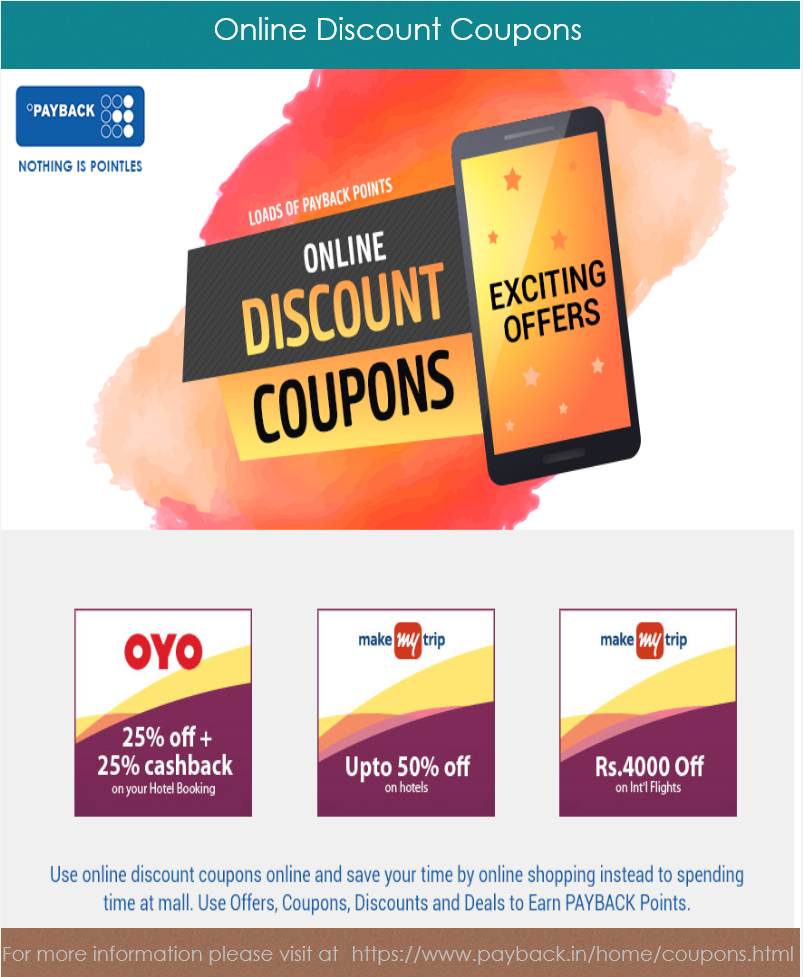 Online Discount Coupons Payback India By Customer Loyalty Medium