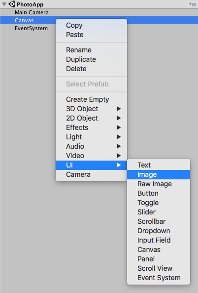 Prototyping UI in Unity Part 5 — Creating the UI Navigation Bar