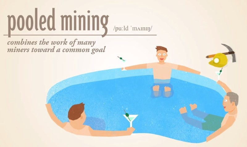 How does a Bitcoin mining pool work? - When I think about