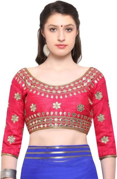 Silver Zari Blouse Designs