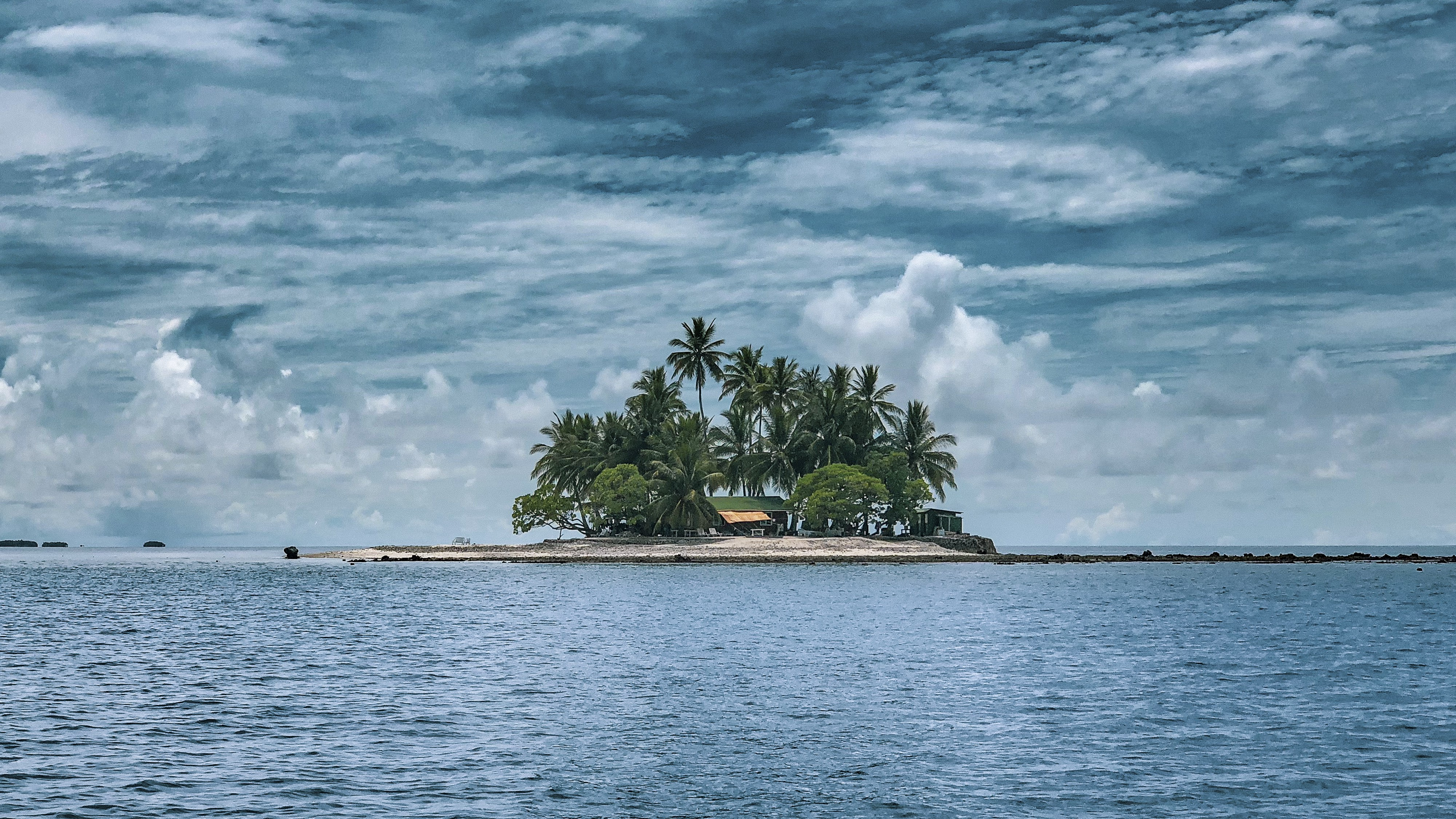 Lonely island in Micronesia