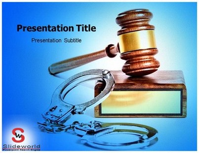 Government Institutions Law Changes Using Criminal Justice Powerpoint Templates By Templates For Powerpoint Medium