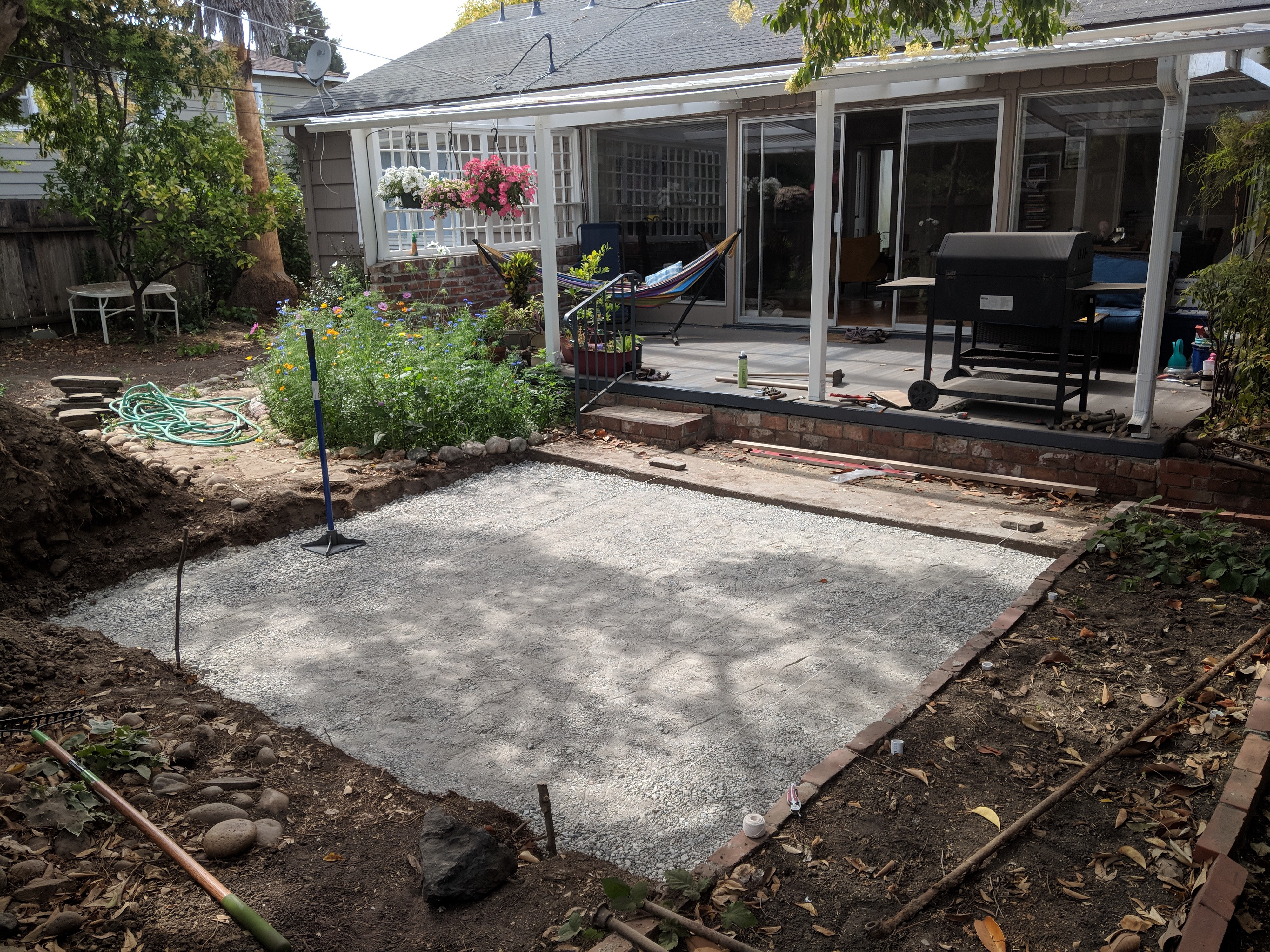Amateur Hour Build Your Own Patio In A Weekend Ish By Melanie Lei Medium