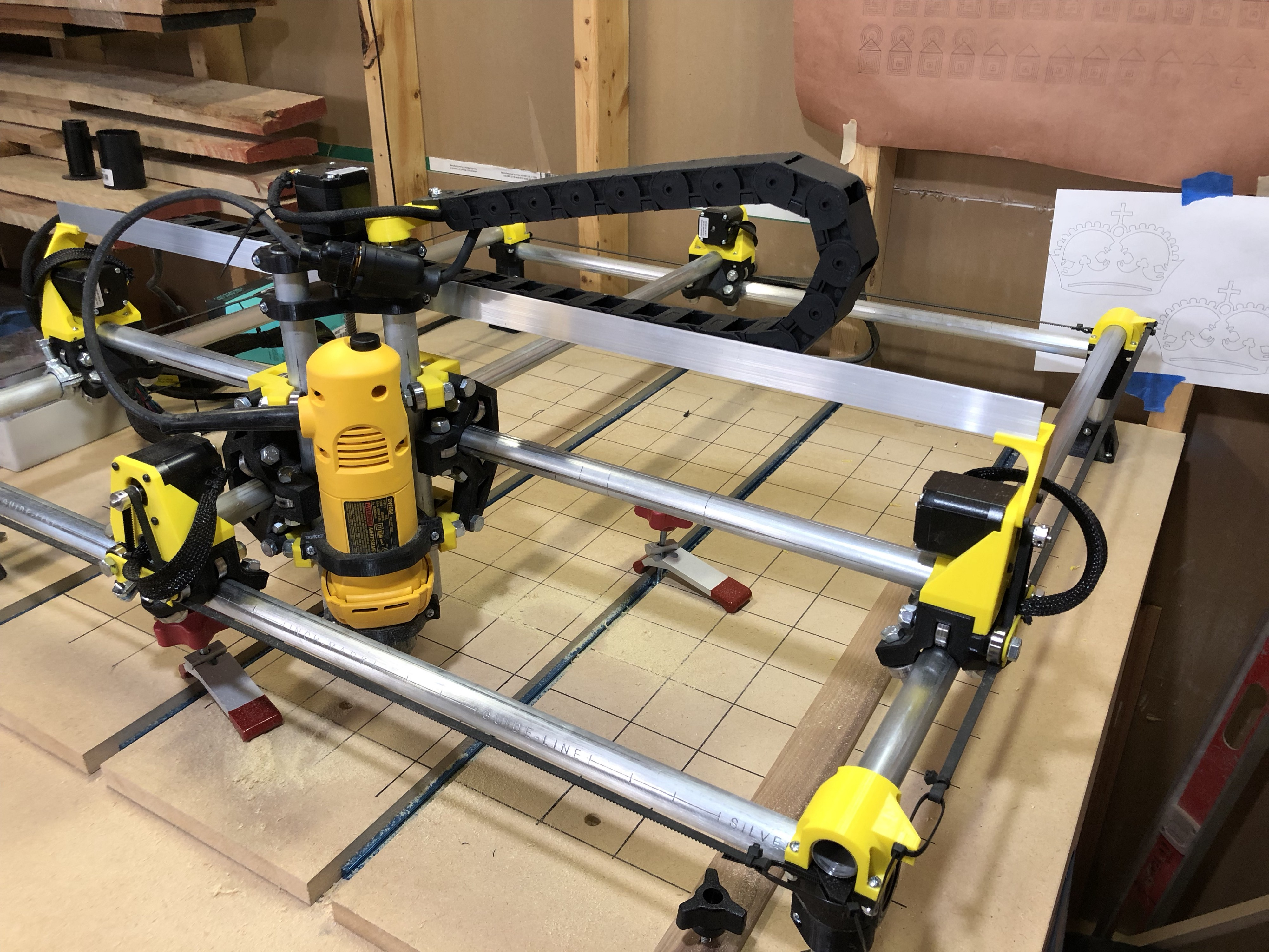 Mpcnc From The Beginning My Son Knew I Was Looking To Buy A Cnc By Tom Will Medium