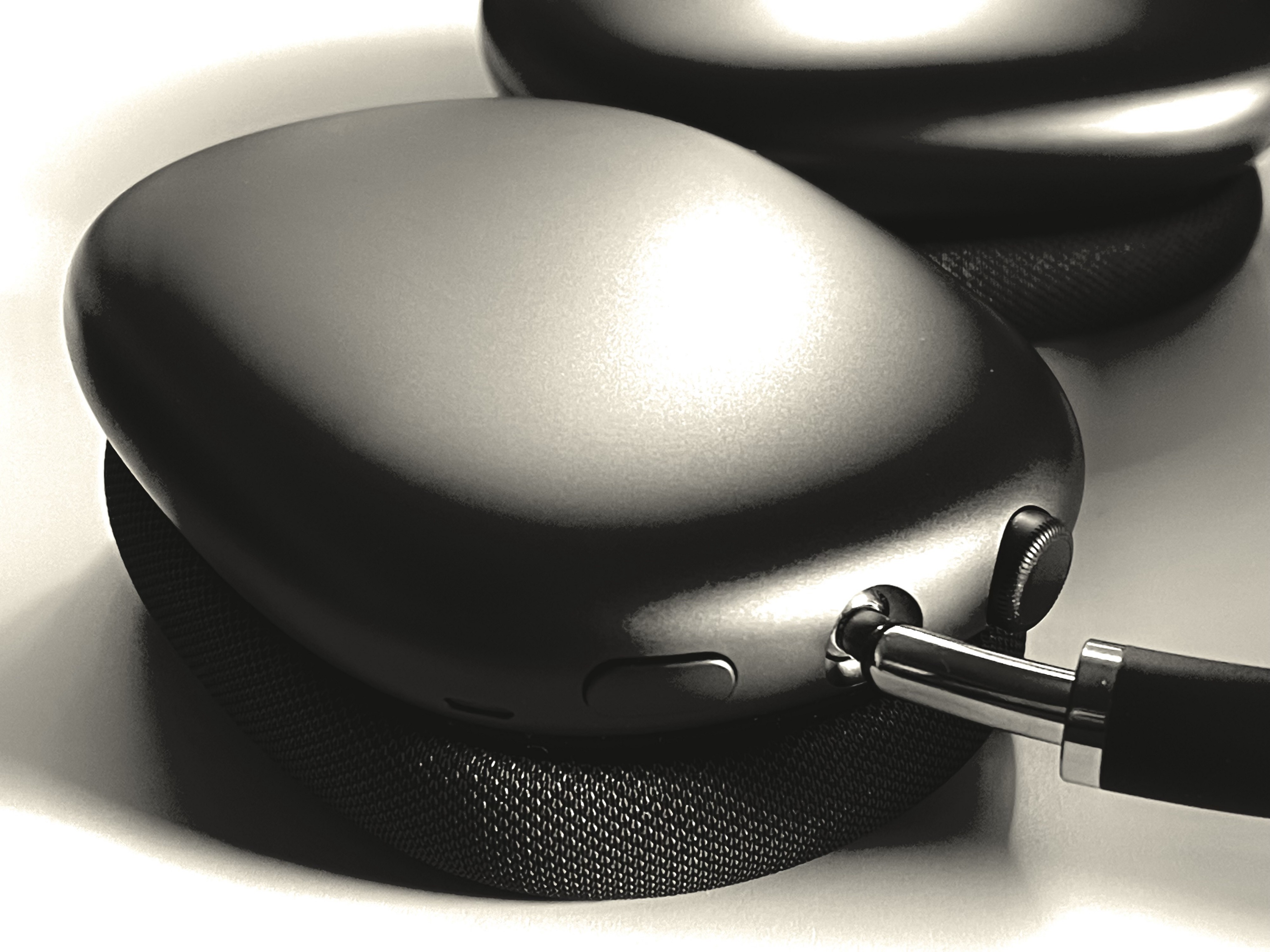 AirPods Max Ear Cup close up.