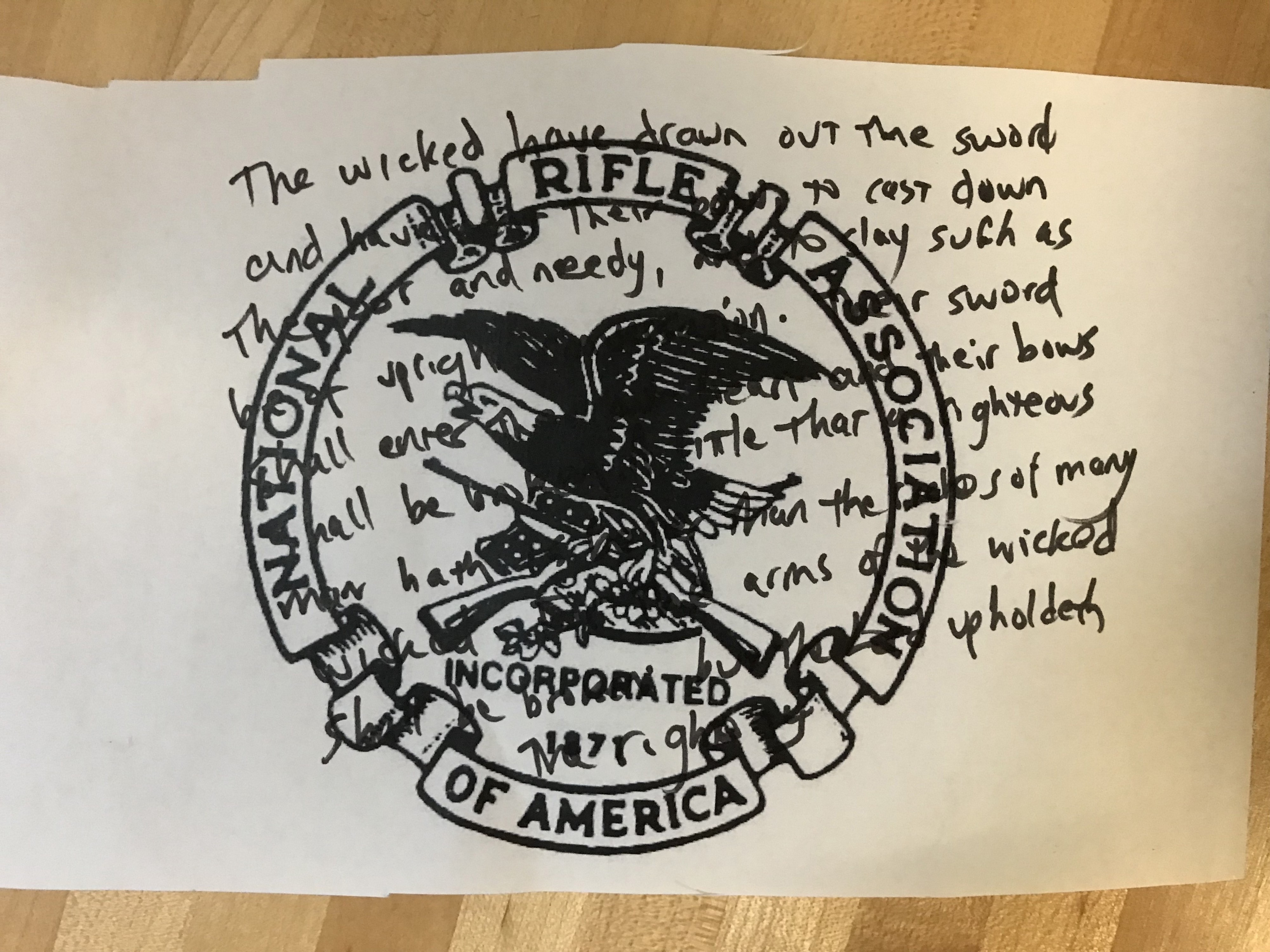 Hex the NRA: A New Spell for the #MagicResistance