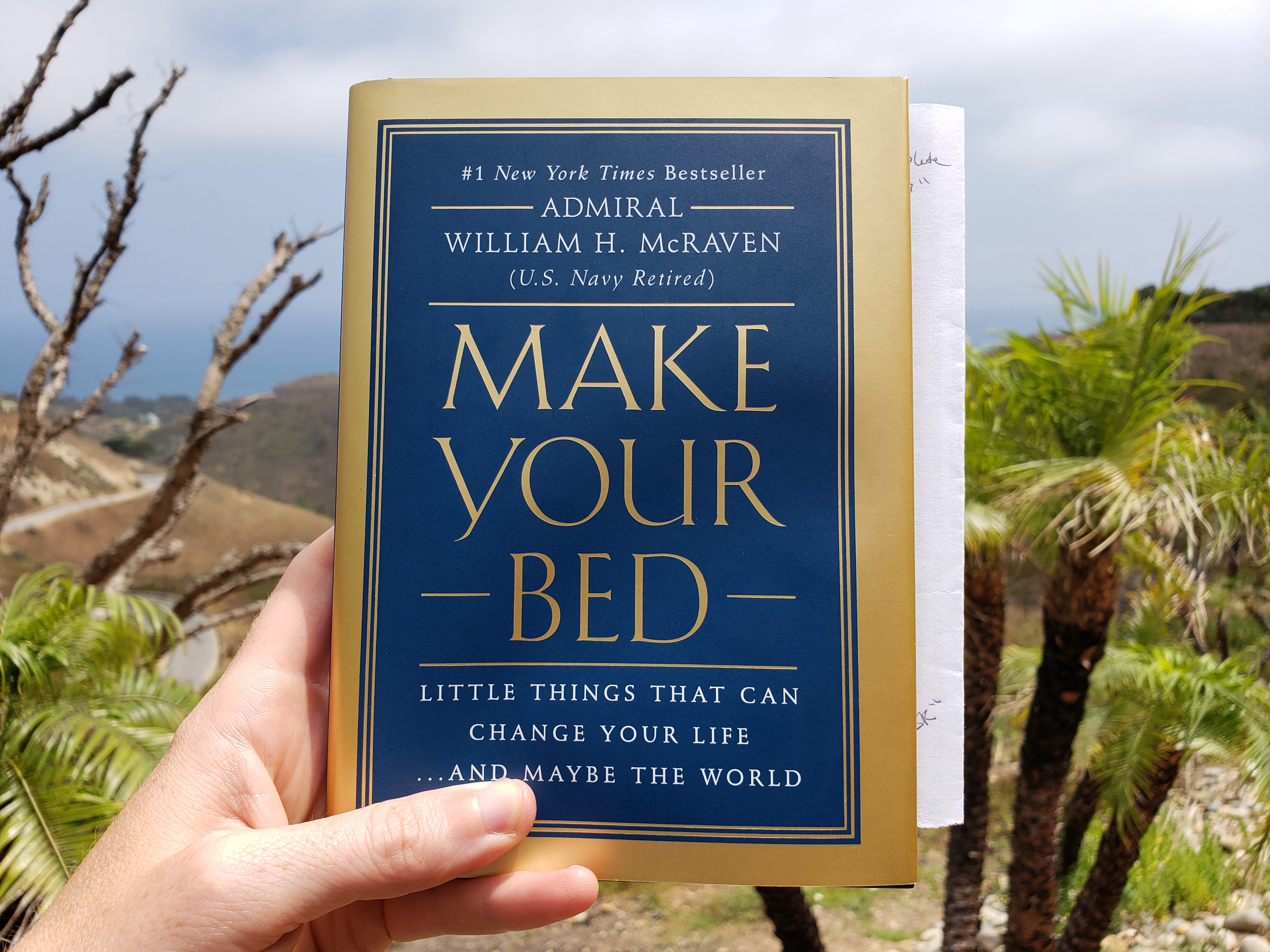 Make Your Bed Little Things That Can Change Your Lifeand Maybe The World