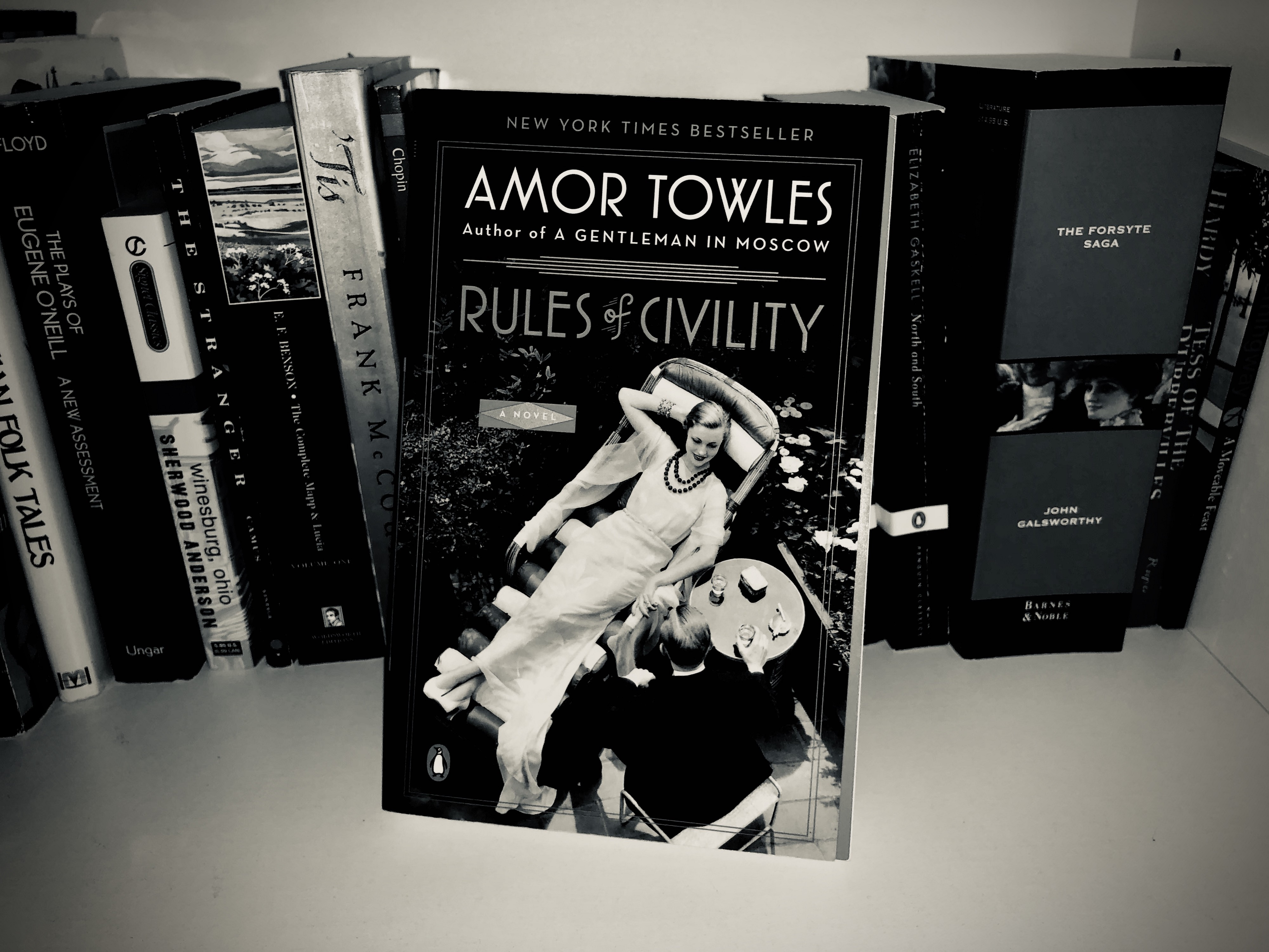 Book Cover for Rules of Civility by Amor Towles