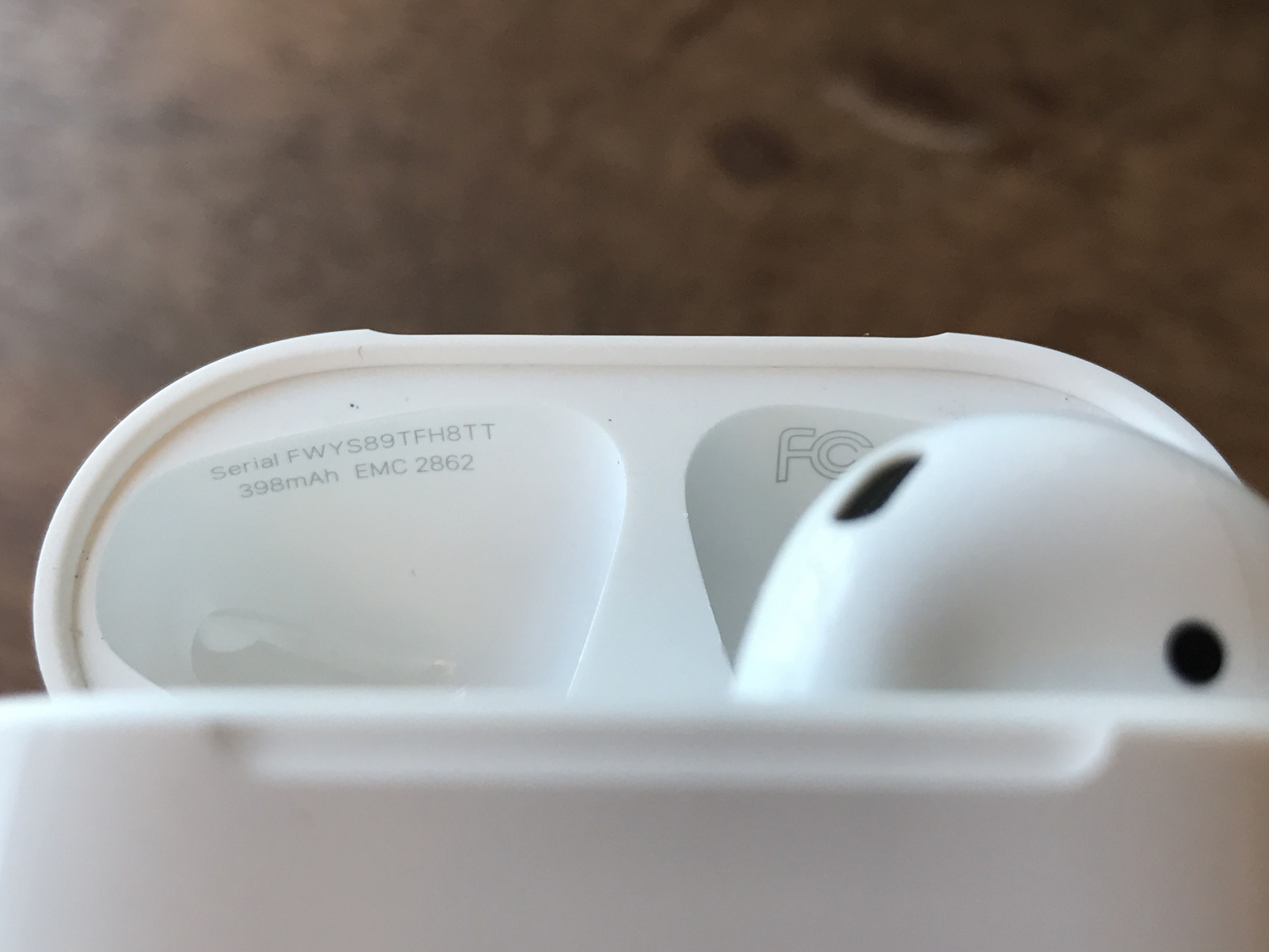 airpods バッテリー
