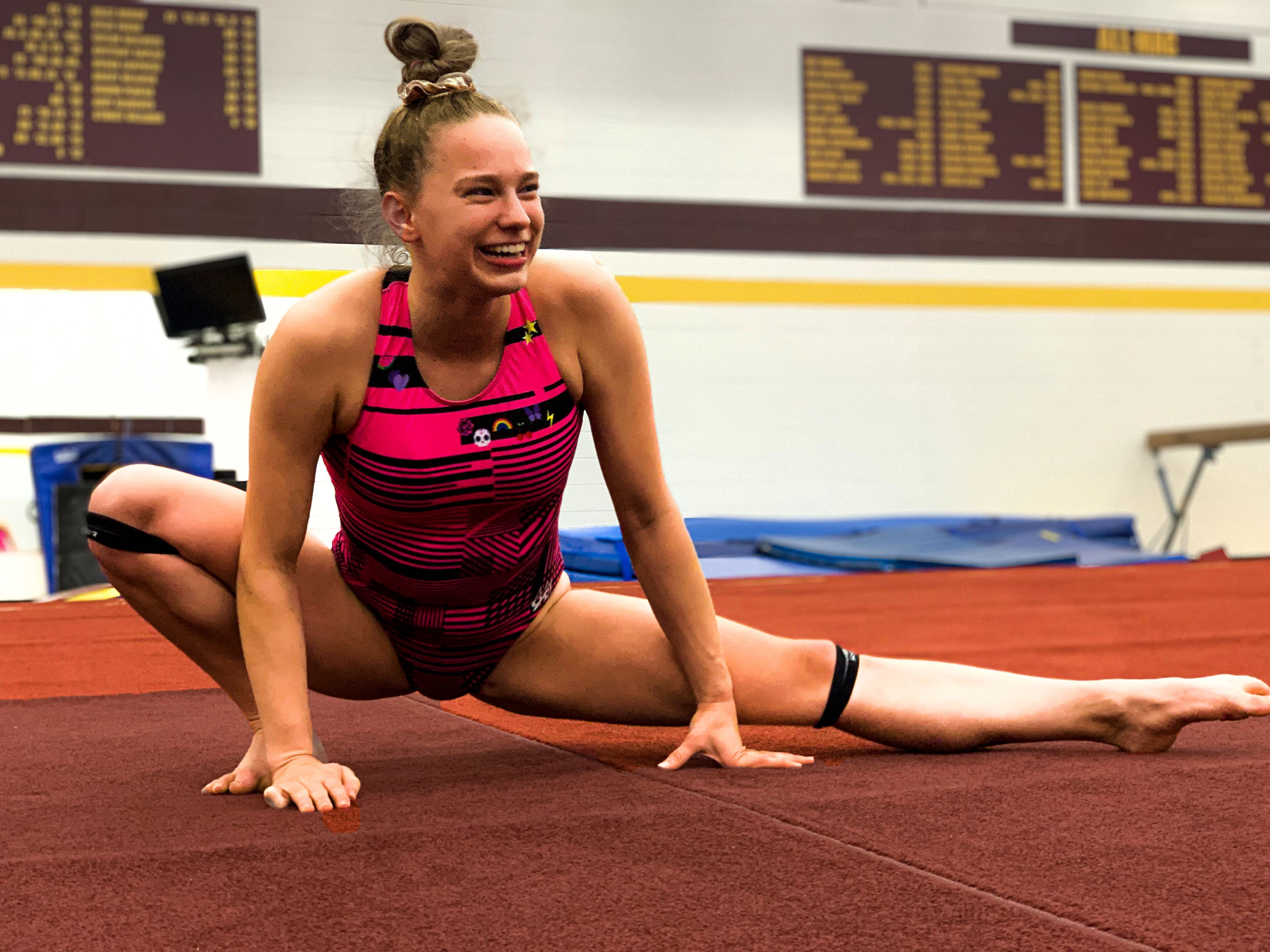 CMU Gymnastics Practice. The CMU gymnastics team has been a… | by Sydney  Williams | Sydney's Online Portfolio | Medium