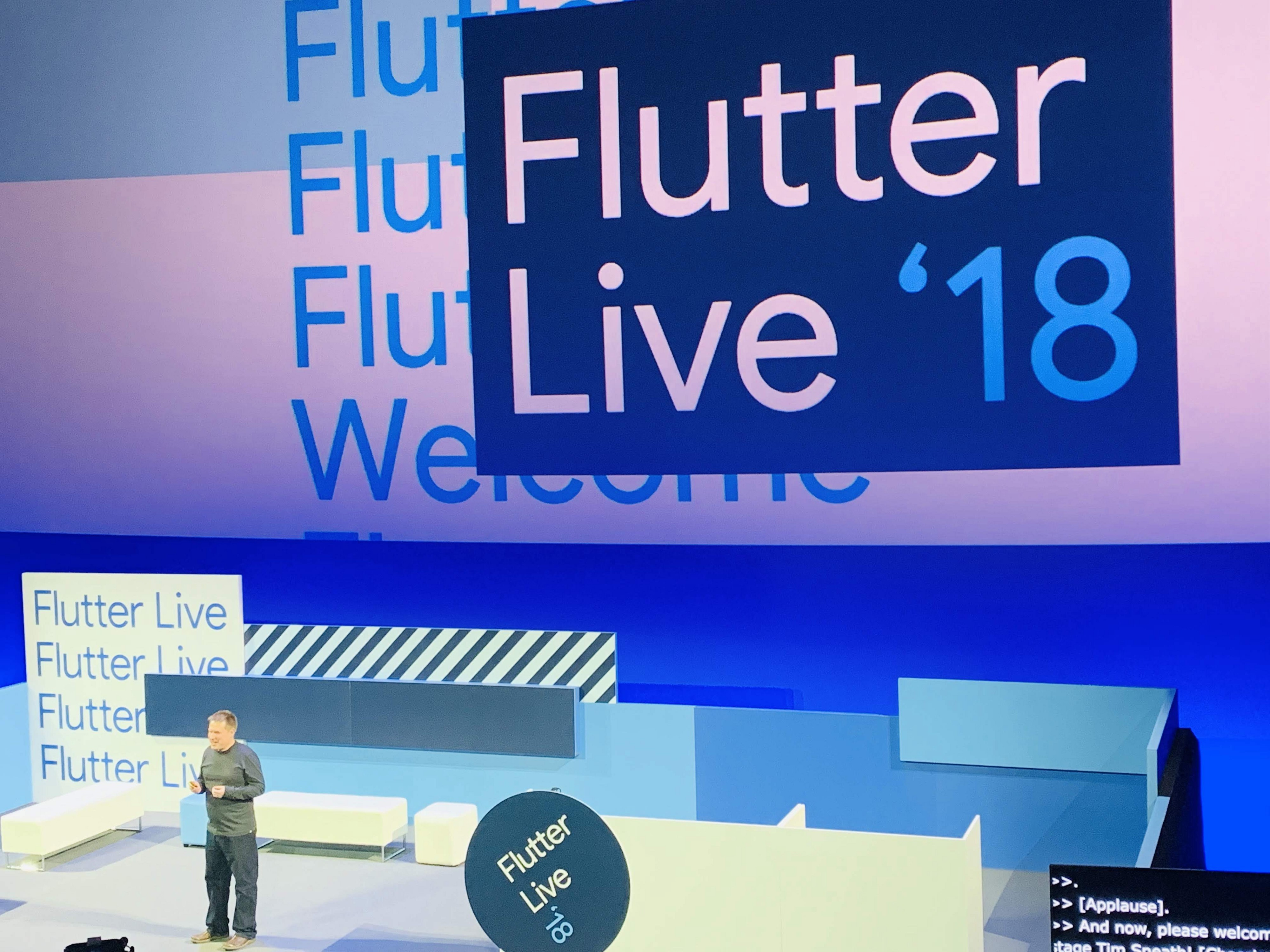 How Flutter took me all the way to London : Flutter Live 2018